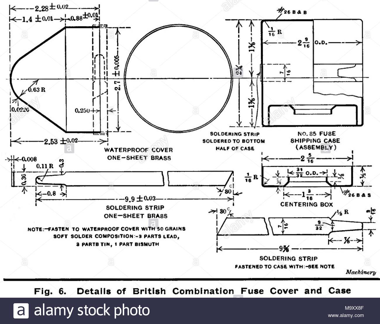hight resolution of  diagramma 6 british n 85 tempo e percussioni fuze 1915 fuze il coperchio e il caso basato su us 21 seconda fuze m1907 fabbricato in noi da betlemme