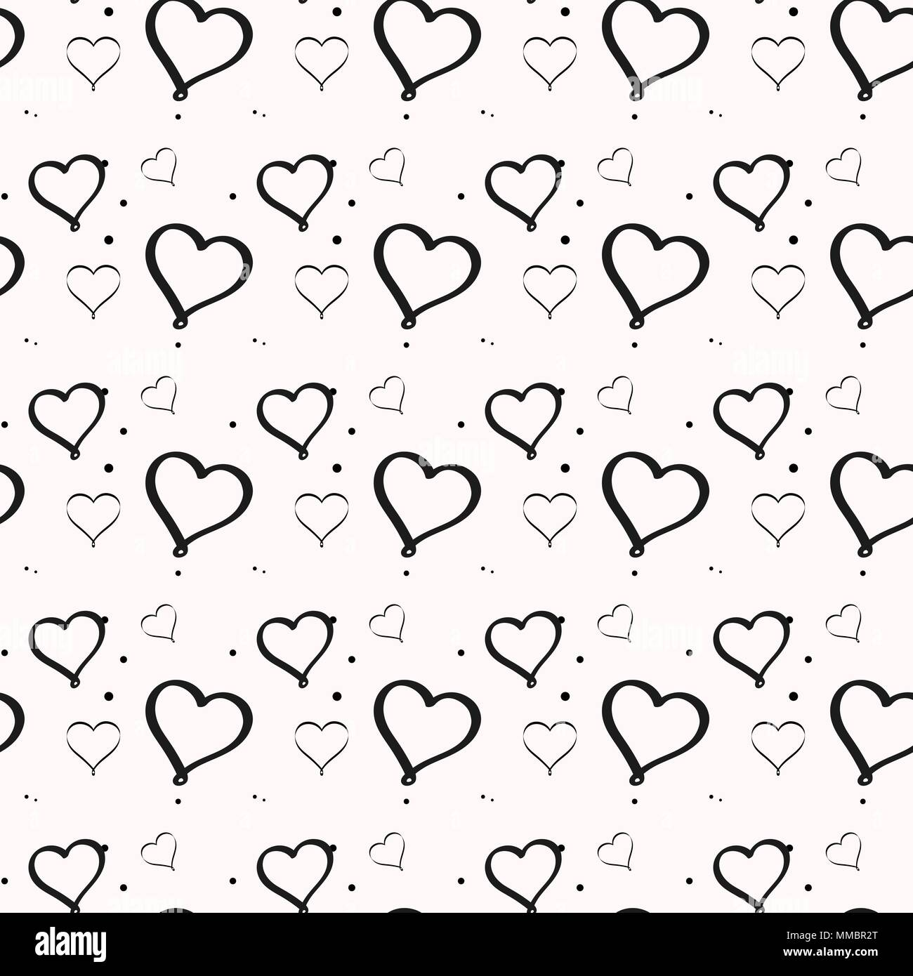 La forma dei cuori con colori diversi è così carina! Bianco E Nero Cuore Minimalista Seamless Pattern Per Carta Da Parati Di Vivaio Set Di Isolato Divertente Carino Simboli Decorativi Ed Elementi Scacchi Ordine Della Griglia Immagine E Vettoriale Alamy