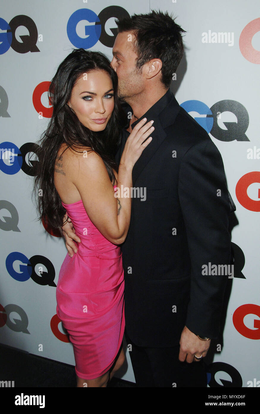 Megan Fox e Brian Austin Green  GQ 2008 uomini dellanno
