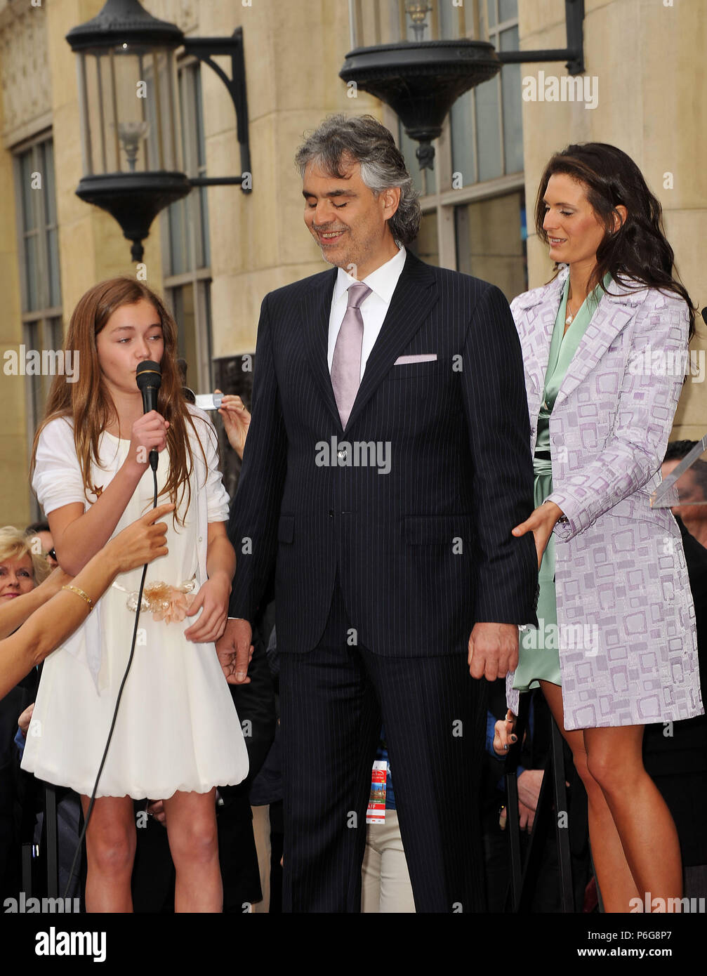 Andrea Bocelli _ fidanzata Veronica Berti _ Claire
