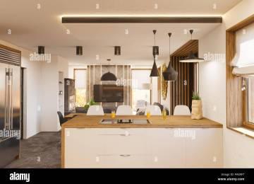 Camino In Cucina Moderna | Caminetti Per Una Casa Moderna Cose Di Casa