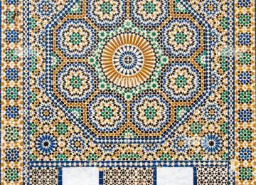 Piastrelle mosaico marocchine piastrelle con disegni beautiful