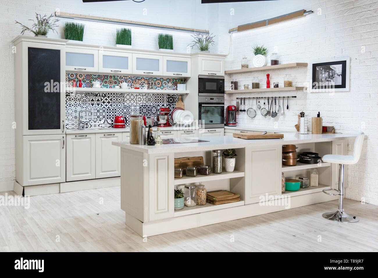 Cucine Stile Classico Moderno   Cucine In Muratura Stile Moderno