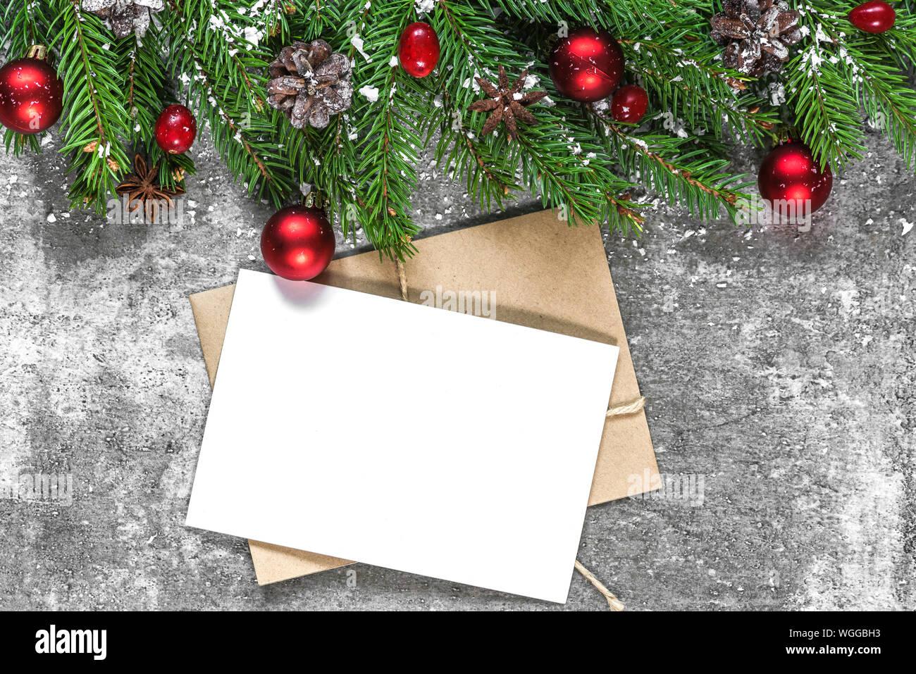 Ogni anno la magia del natale riempie si ripete, con tutto il suo carico di gioia, regali e feste in famiglia. Sfondo Di Natale Mock Up Immagini E Fotos Stock Alamy