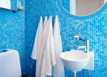 Bagno Con Mosaico Blu   Piastrelle Per Il Bagno 25 Soluzioni E Oltre ...