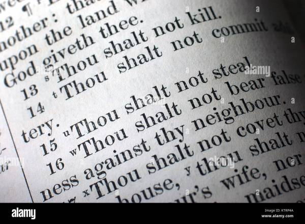 10 commandments bible # 54