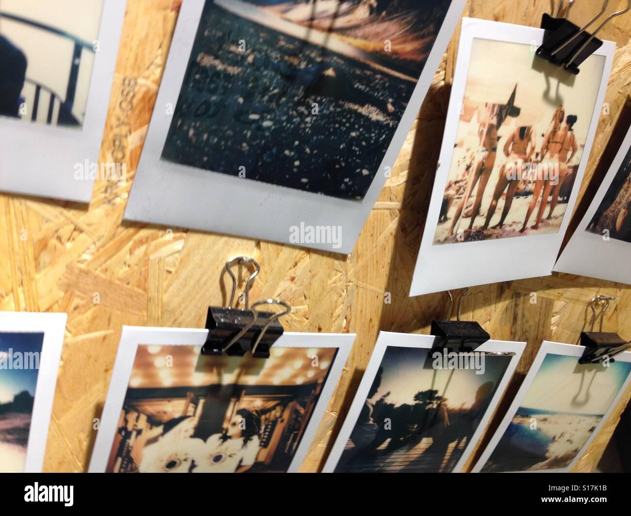 tumblr polaroid pictures stock