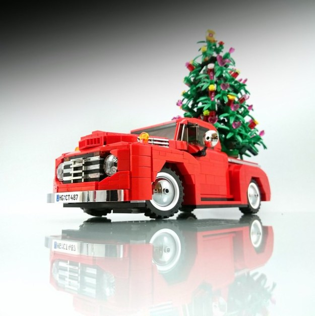 Merry Christmas From This Classic Ford Pickup Truck
