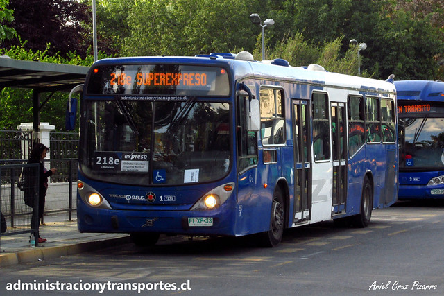 Transantiago 218e | Subus | Marcopolo Gran Viale 13.2 - Volvo / FLXP33