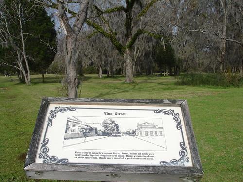 Site of Vine Street, Old Cahawba, Alabama