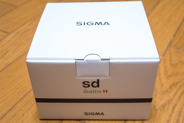 SIGMA sd Quattro H - Unbox