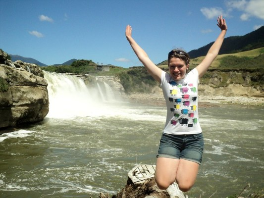 Waterfalls in New Zealand - thea tea break project solo female travel blog