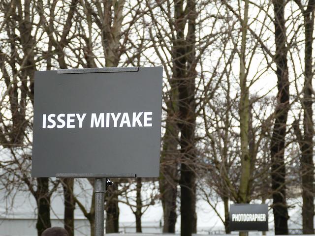 Issey Miyake Street Style #PFW #AW14