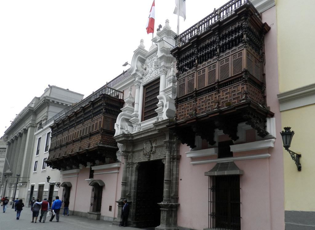Peru Lima Palacio de Torre Tagle 02