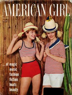 American Girl Magazine Cover June 1964  American Girl