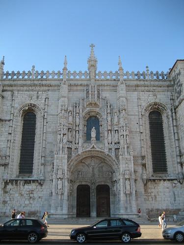 Fachada del Monasterio de los Jerónimos. ViajerosAlBlog.com.