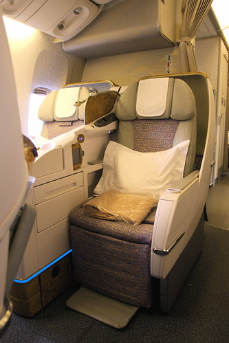 Emirates 777300ER Business Class  Aside from the in