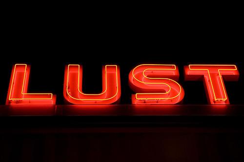 Lust At Night Neon Sign In Hyattsville Maryland S Art
