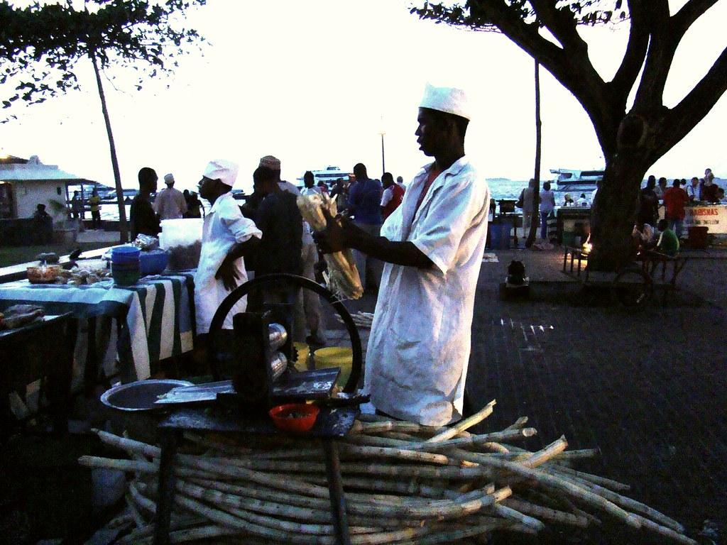 extracción de la caña de azucar Zanzibar Tanzania 02