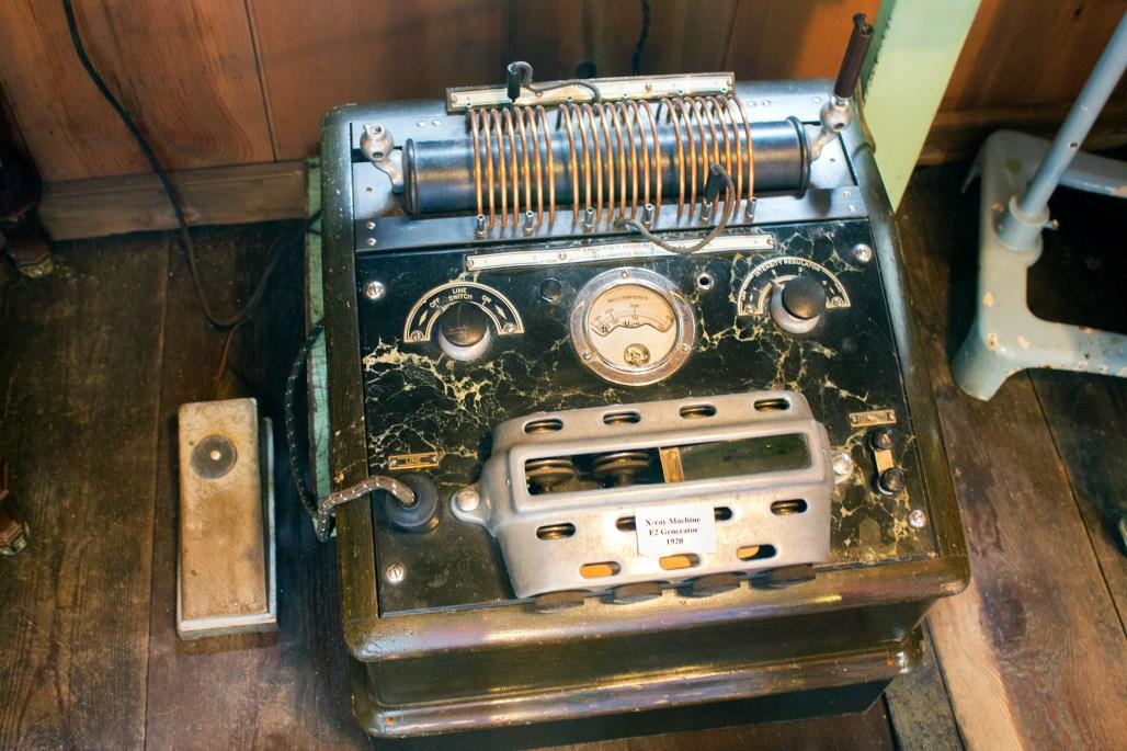 Xray machine from 1920