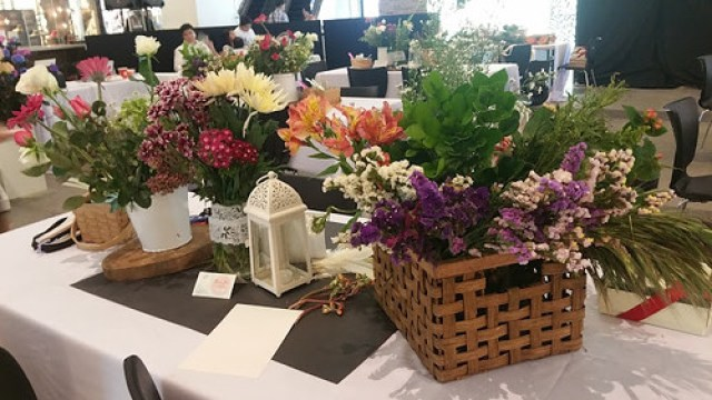 Table of flowers