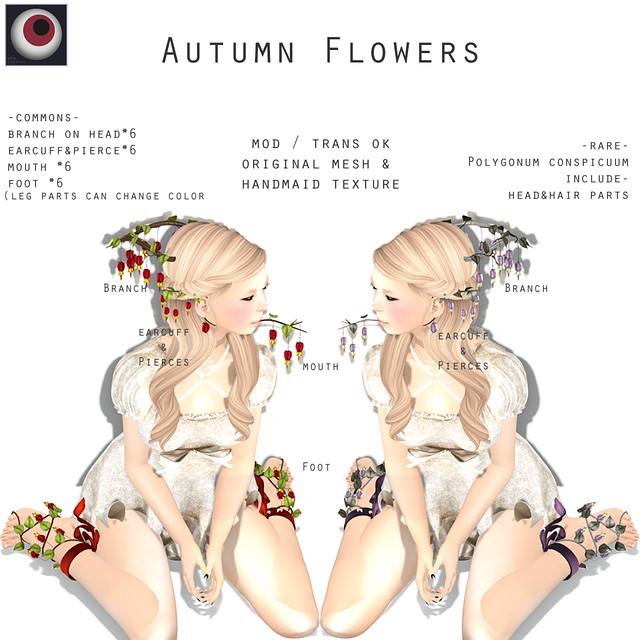 *NAMINOKE*Autumn Flowers Gacha