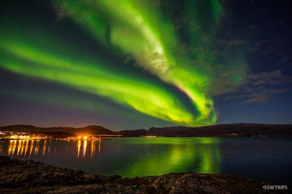 Aurora along E6 - Alta, Norway.jpg