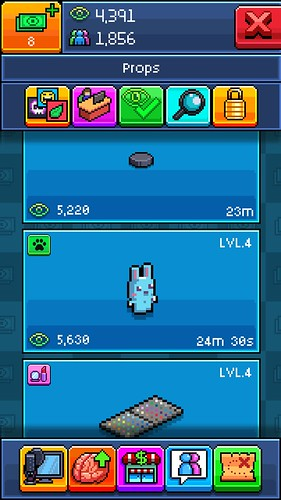 Blu the little blue plushie from Tuber Simulator