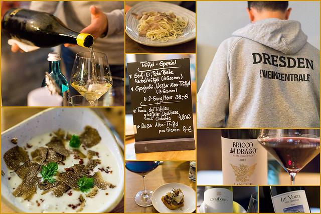 Trüffelabend Weinzentrale