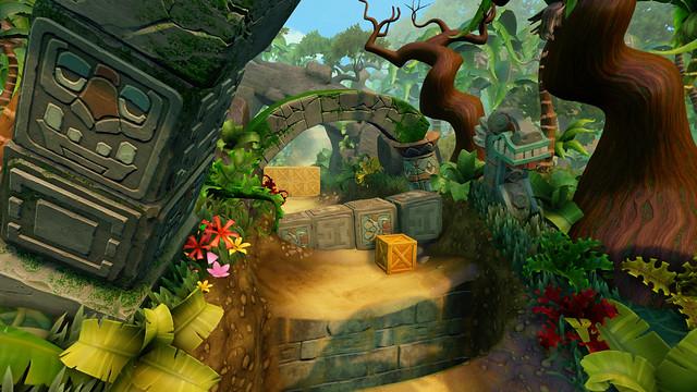 Crash Bandicoot N Sane Trilogy, Environment