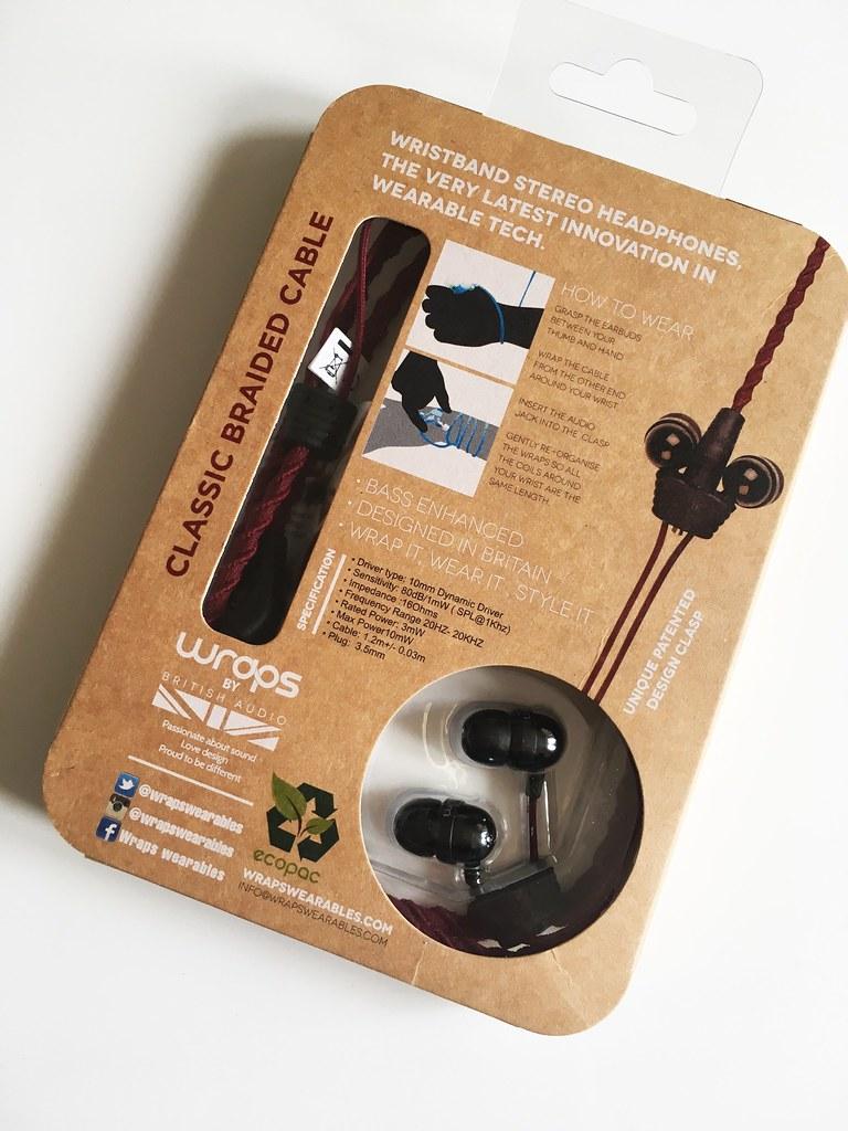 Wraps Wristband Headphones