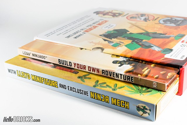 Review Livre LEGO Ninjago DK Build Your Own Adventure 02