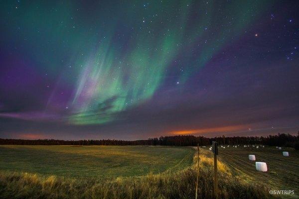 Aurora over Lovanger (3) - Lovanger, Sweden.jpg