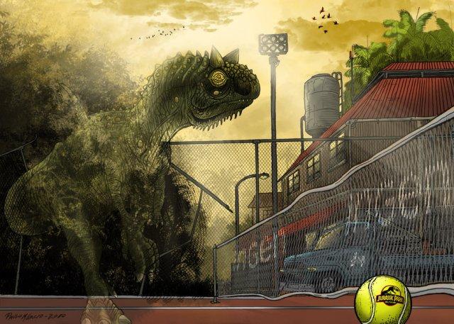 26 Jurassic_Park_Carnotaurus_by_pauloomarcio DeviantART
