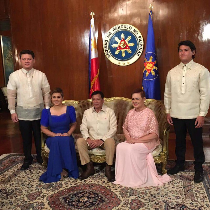 Duterte inauguration