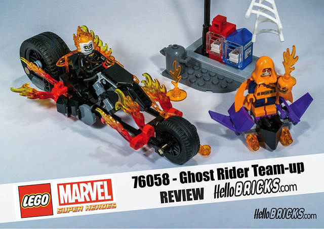 Lego 76058 - Marvel Ghost Rider