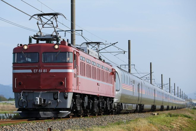 EF81-81+Series E26 Test run