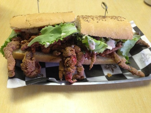 Soft Shell Crab Poboy, Bevi, New Orleans