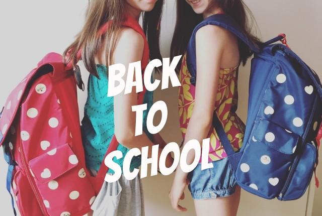 back to school con Accademia - linea Camomilla