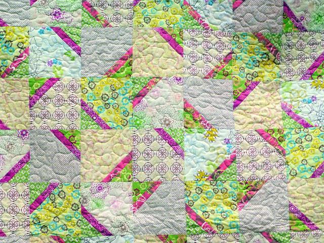 Summer Soft Quilt (British Patchwork & Quilting July16)