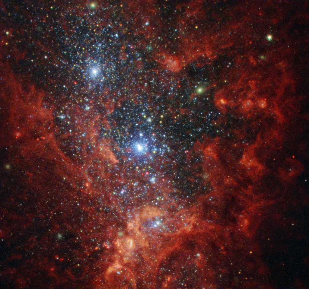 Hubble Hotbed of Vigorous Star Formation