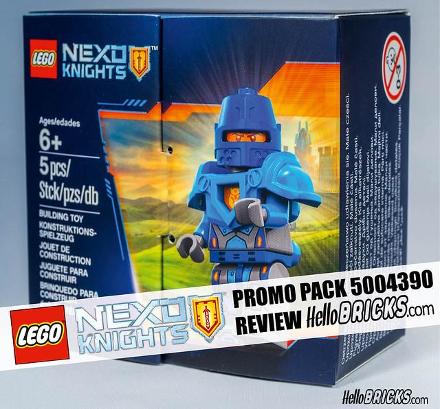 Hellobricks Cover LEGO 5004393 Nexo Knights