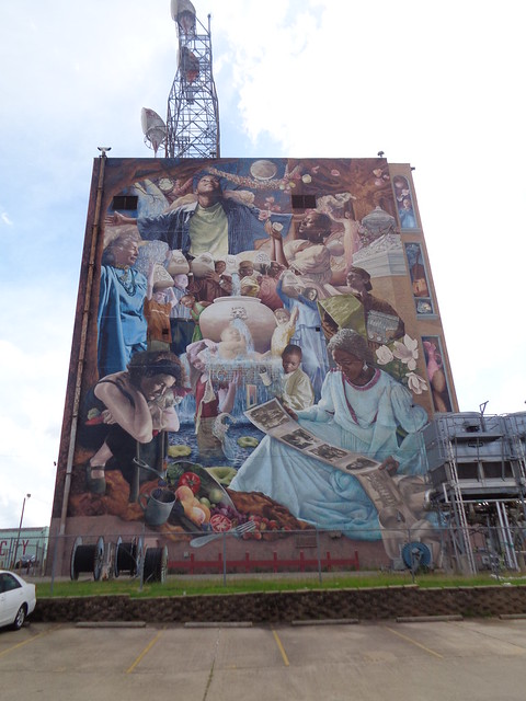 Once in a Millennium Moon Mural by Meg Saligman and 2600 others, Shreveport LA