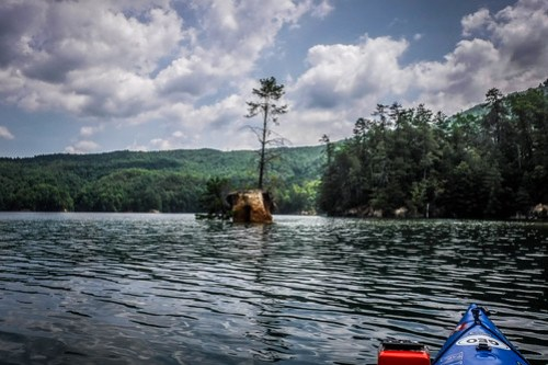 Lake Jocassee Kayaking-112