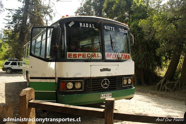 Buses Radal Siete Tazas | Velo de la Novia | Inrecar - Mercedes Benz / KJ6354