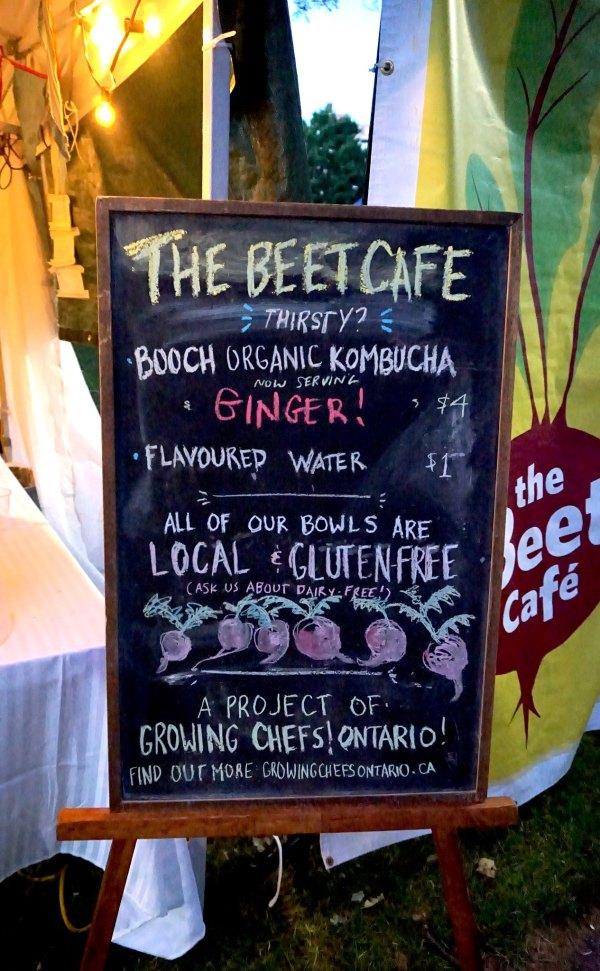 Beet Cafe Drinks Sign | thelittleredspoon.com