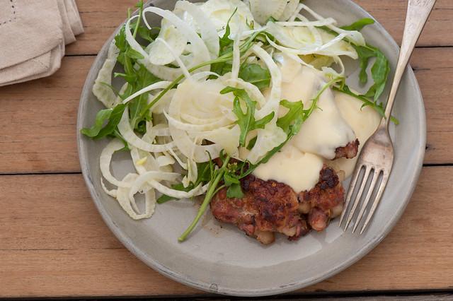 Pork & Fennel Burgers