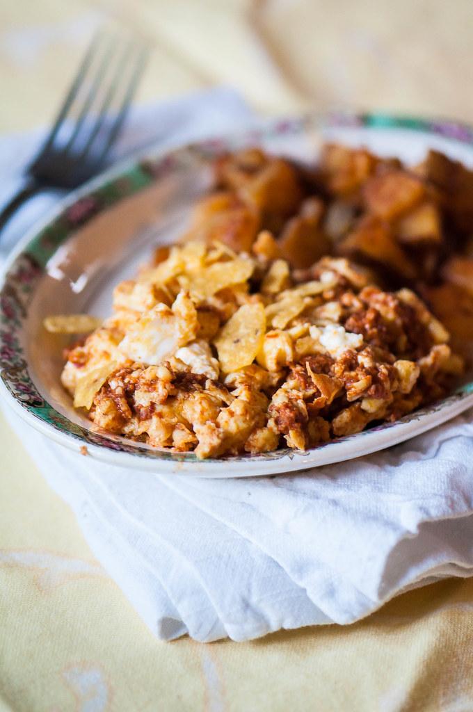 Chorizo Scramble 5