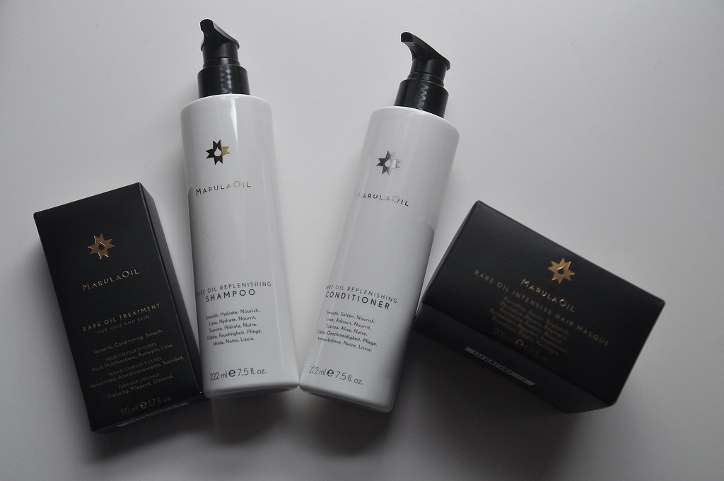Marula Oil Haircare Review