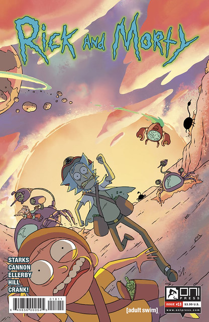 29907035375_e51380f22d_z ComicList Preview: RICK AND MORTY #18